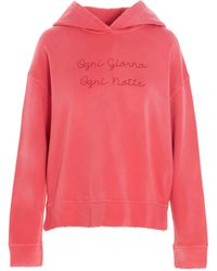 Giada Benincasa BAUMWOLLE SWEATSHIRT - Pink