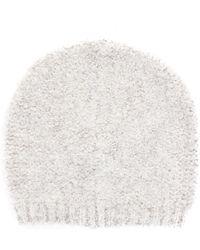 Liu Jo White Acrylic Hat