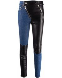 Moschino Polyester Jeans - Black