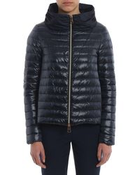Herno Polyester Down Jacket - Blue