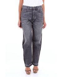 Pt05 Dn02c1vjedb30den Cotton Jeans - Grey