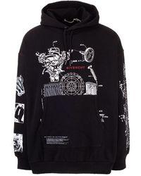 Givenchy Cotton Sweatshirt - Black