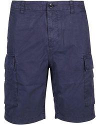 Woolrich BAUMWOLLE SHORTS - Blau