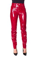 Iceberg Polyester Trousers - Red