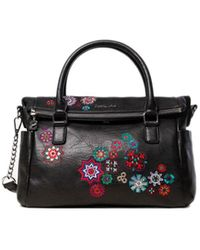 Desigual Black Polyurethane Handbag