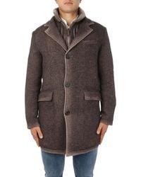 Gimo's - Wool Coat - Lyst