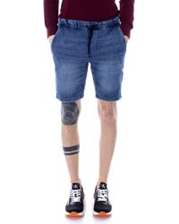 Only & Sons - Blue Cotton Shorts - Lyst