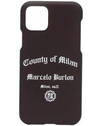 Marcelo Burlon IPhone 11 Pro-Hülle mit Logo - Schwarz
