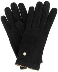 Borbonese 6dt600q61x80 wolle handschuhe - Schwarz