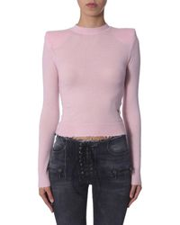 Unravel Project ROSA CASHMERE PULLOVER - Mehrfarbig