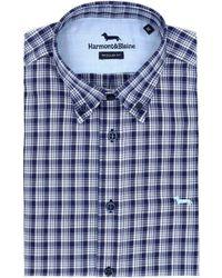 Harmont & Blaine Cotton Shirt - Blue