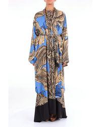 Christian Pellizzari Viscose Dress - Blue