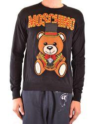 Moschino Cotton Sweater - Black