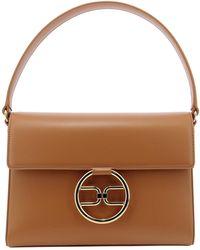 Elisabetta Franchi Women's Bs03a11e2600 Brown Polyurethane Handbag