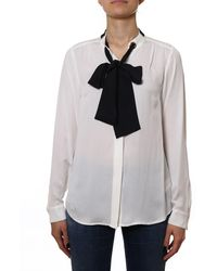 Michael Kors Silk Shirt - White