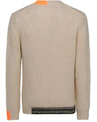 Helmut Lang - ANDERE MATERIALIEN SWEATER - Lyst