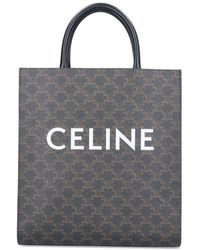 Celine LEDER TOTE - Braun