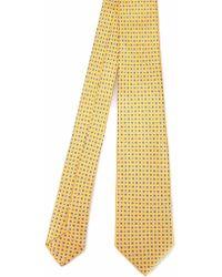 Kiton Cravatta - Yellow