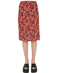 Marni Viscose Skirt - Red