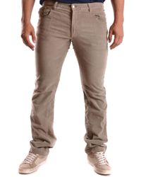 CoSTUME NATIONAL Beige Cotton Jeans - Natural