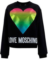 Love Moschino ALTRI MATERIALI - Nero