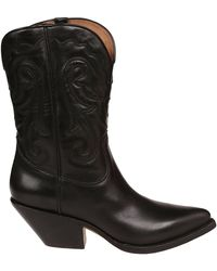 Buttero - Black Leather Boots - Lyst