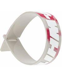 Off-White c/o Virgil Abloh PVC ARMBAND - Weiß