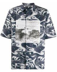 McQ Cotton Shirt - Blue