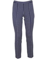Michael Kors Polyester Trousers - Blue