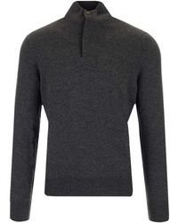 Ermenegildo Zegna U8k11127k98 andere materialien sweater - Grau