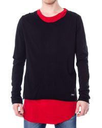 Imperial Black Cotton T-shirt