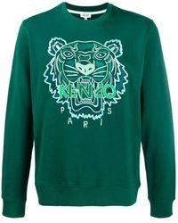 KENZO Green Cotton Sweatshirt