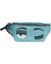 Chiara Ferragni Polyamide Belt Bag - Blue