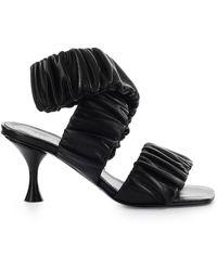 Halmanera - Leather Sandals - Lyst