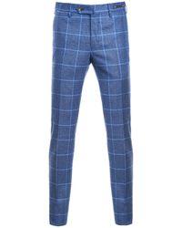 PT01 Light Blue Wool Pants