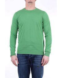 Drumohr Er pullover mit rundhalsausschnitt - Grün