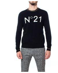 N°21 Wool Jumper - Black