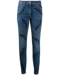 Moschino Cotton Jeans - Blue