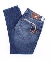 Jacob Cohen Jeans regelmäßig herren - Blau