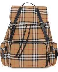 Burberry Brown Polyamide Backpack