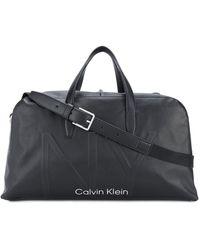 Calvin Klein KUNSTLEDER REISETASCHE - Schwarz