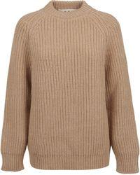 Marni Beige Wool Jumper - Natural