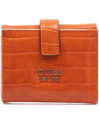 Guess Swcg787038012ora andere materialien brieftaschen - Orange