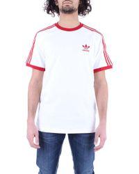 adidas White Cotton T-shirt