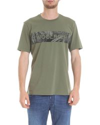 Woolrich Clothing For Men - Green