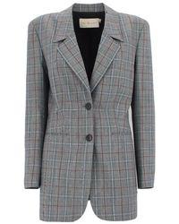 Tory Burch Wool Blazer - Grey