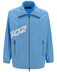 DSquared² Cotton Outerwear Jacket - Blue