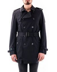 Save The Duck POLYESTER TRENCH COAT - Schwarz