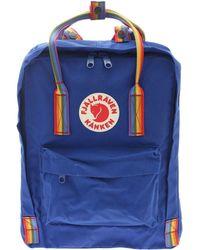 Fjällräven Kånken Light Blue Polyester Travel Bag