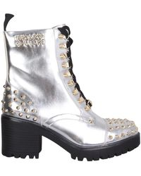 Versace Jeans Couture 71va3s96zs000900 andere materialien stiefel - Mehrfarbig